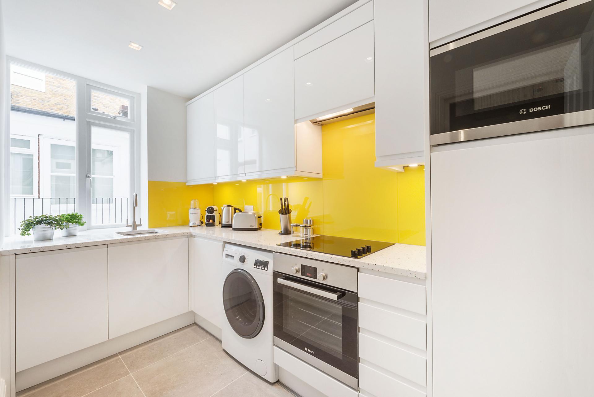 Kitchen at Marylebone - Wyndham Street Apartments - Citybase Apartments