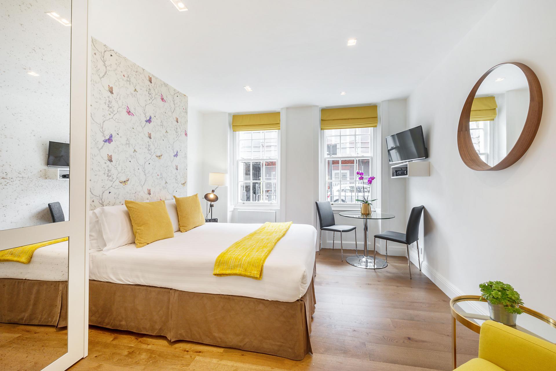 Bedroom at Marylebone - Wyndham Street Apartments - Citybase Apartments