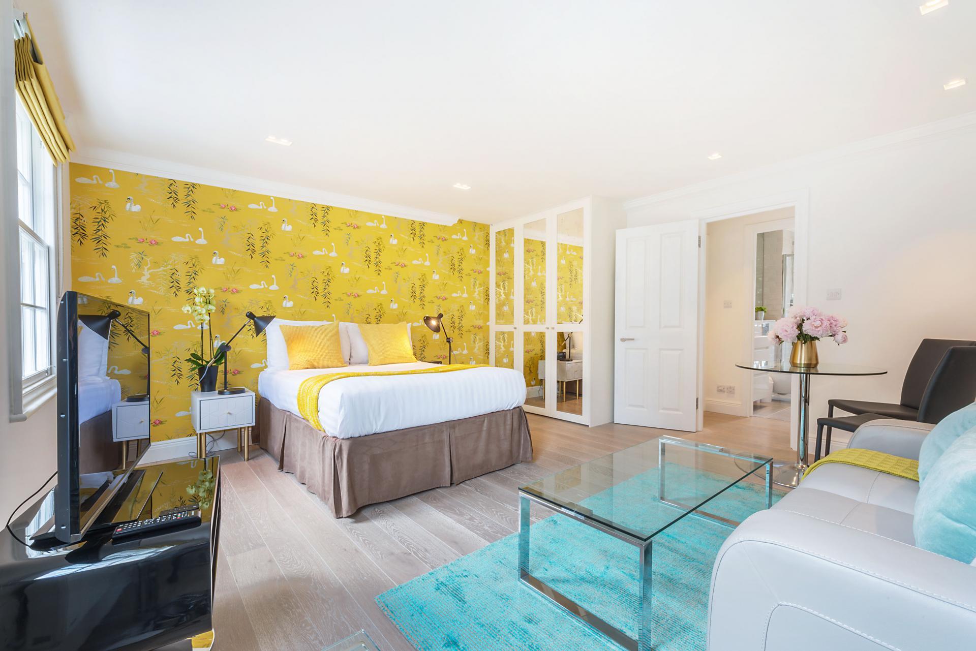 Bed at Marylebone - Wyndham Street Apartments - Citybase Apartments