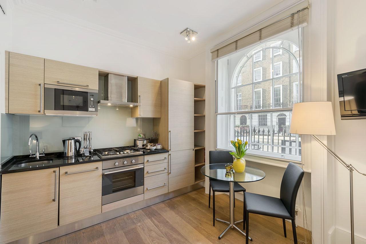 Kitchen at Marylebone - Gloucester Place, Marylebone, London - Citybase Apartments