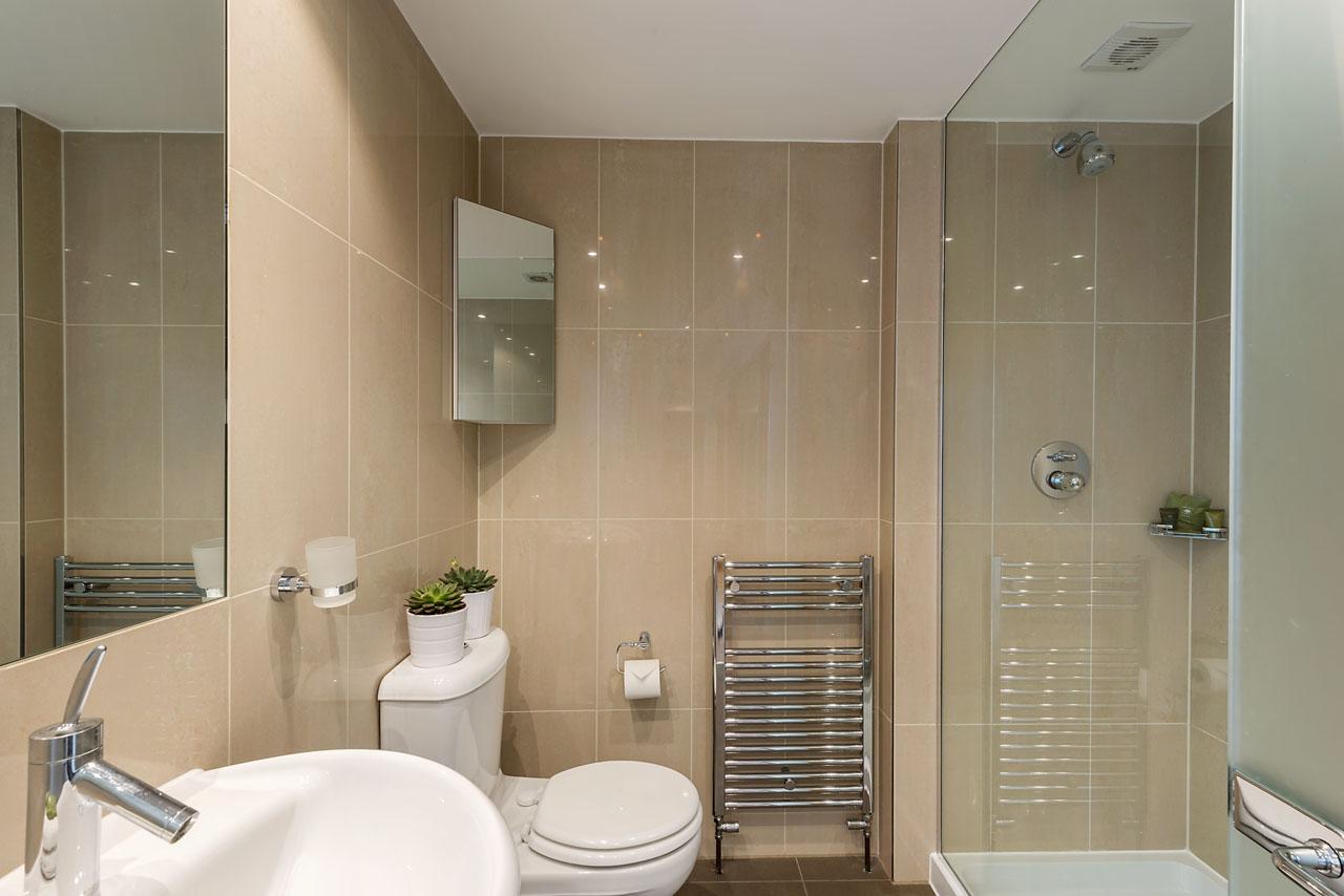 Bathroom at Marylebone - Gloucester Place, Marylebone, London - Citybase Apartments