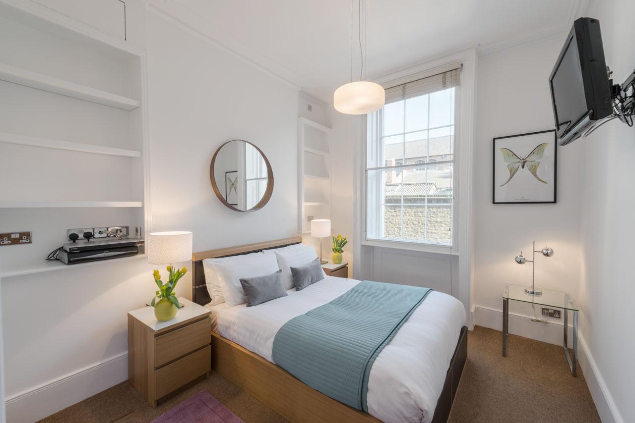 Bed at Marylebone - Gloucester Place, Marylebone, London - Citybase Apartments