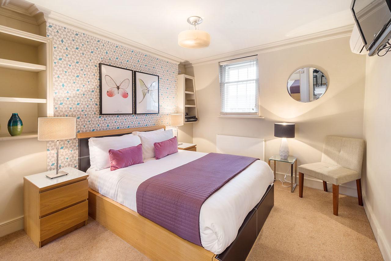 Double bedroom at Marylebone - Gloucester Place, Marylebone, London - Citybase Apartments