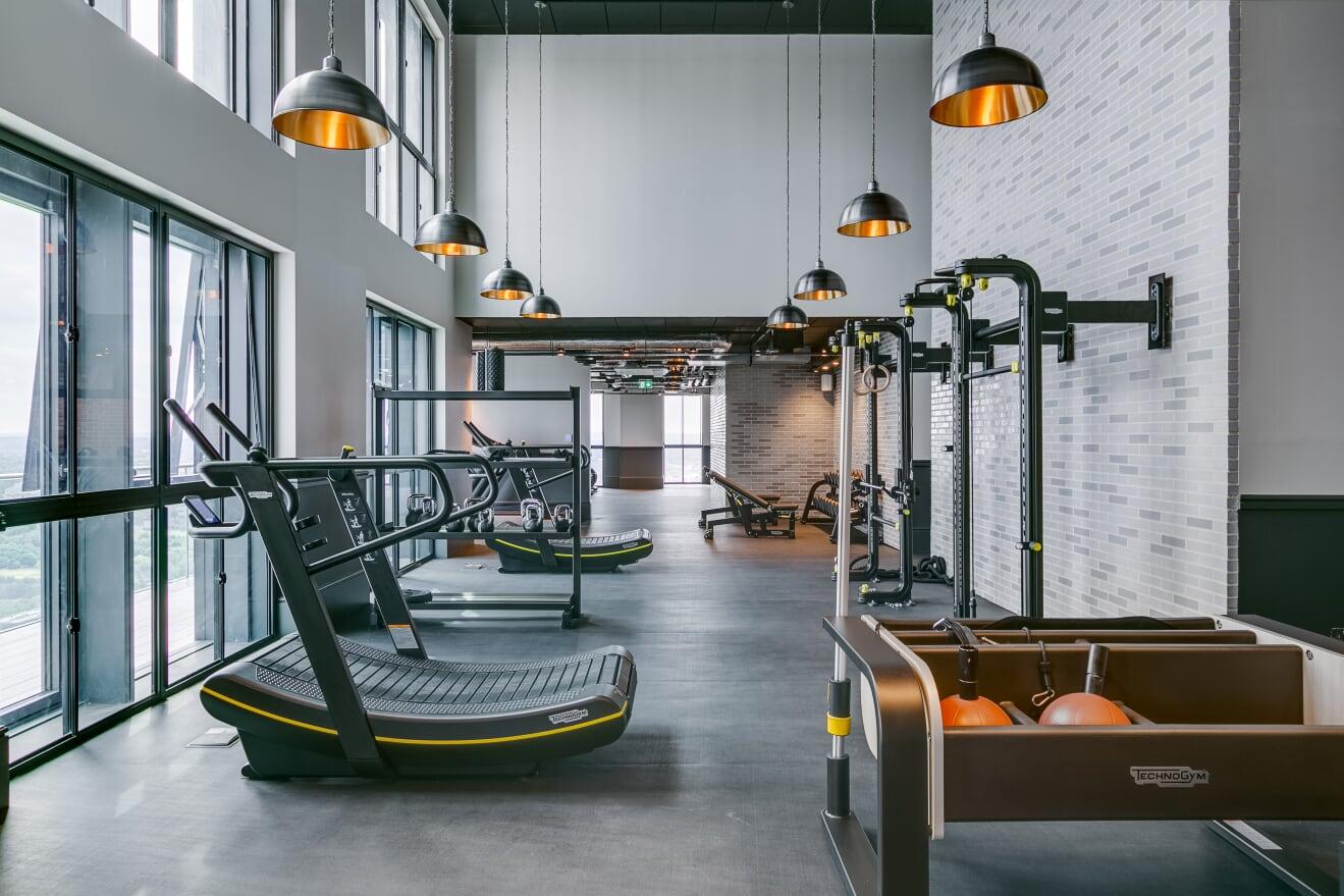 Gym at Charles Hope Canary Wharf, Canary Wharf, London - Citybase Apartments