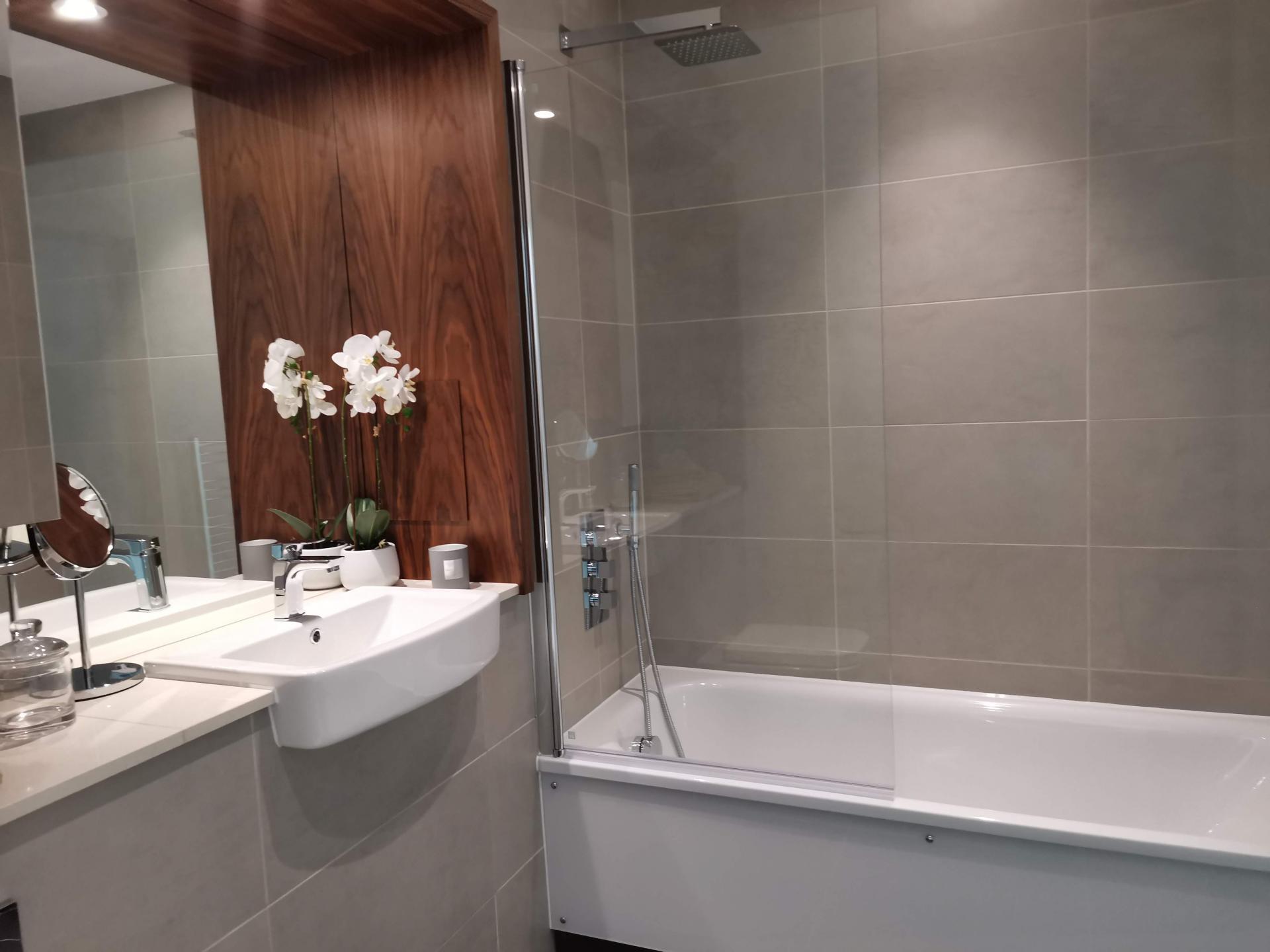 Sink at Charles Hope Canary Wharf, Canary Wharf, London - Citybase Apartments