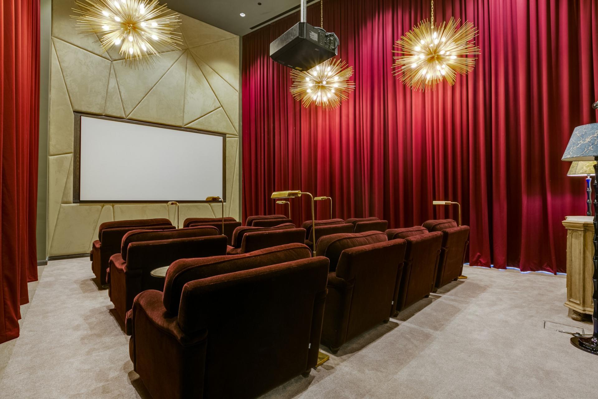 Cinema at Canary Wharf Apartments By Charles Hope, Canary Wharf, London - Citybase Apartments