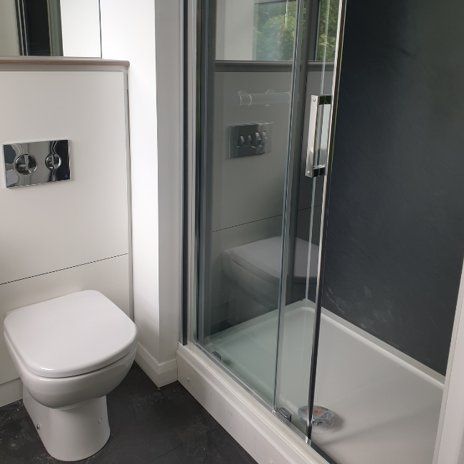 Toilet at The Spires Cardiff, Centre, Cardiff - Citybase Apartments
