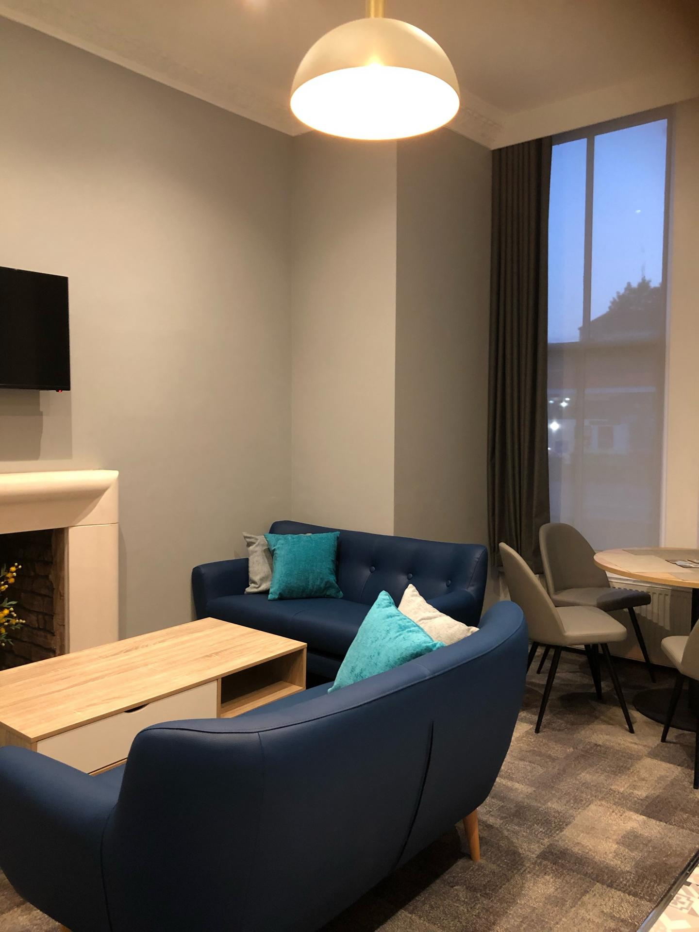 Sitting area at The Spires Cardiff, Centre, Cardiff - Citybase Apartments