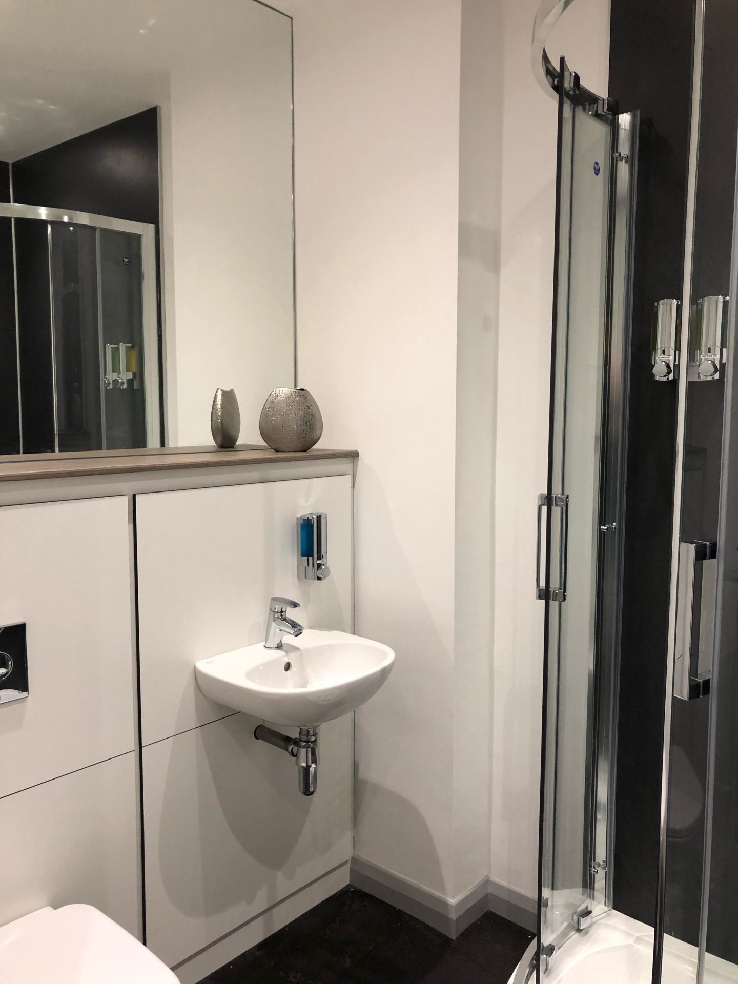 Sink at The Spires Cardiff, Centre, Cardiff - Citybase Apartments