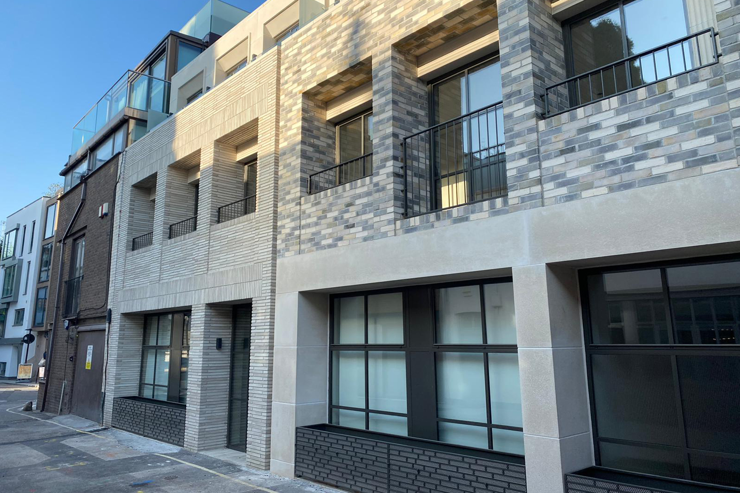 Outside of King's Mews Apartments, Holborn, London - Citybase Apartments