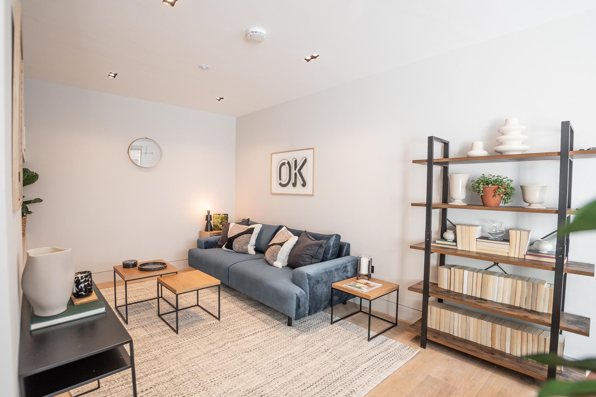 Sofa at King's Mews Apartments, Holborn, London - Citybase Apartments