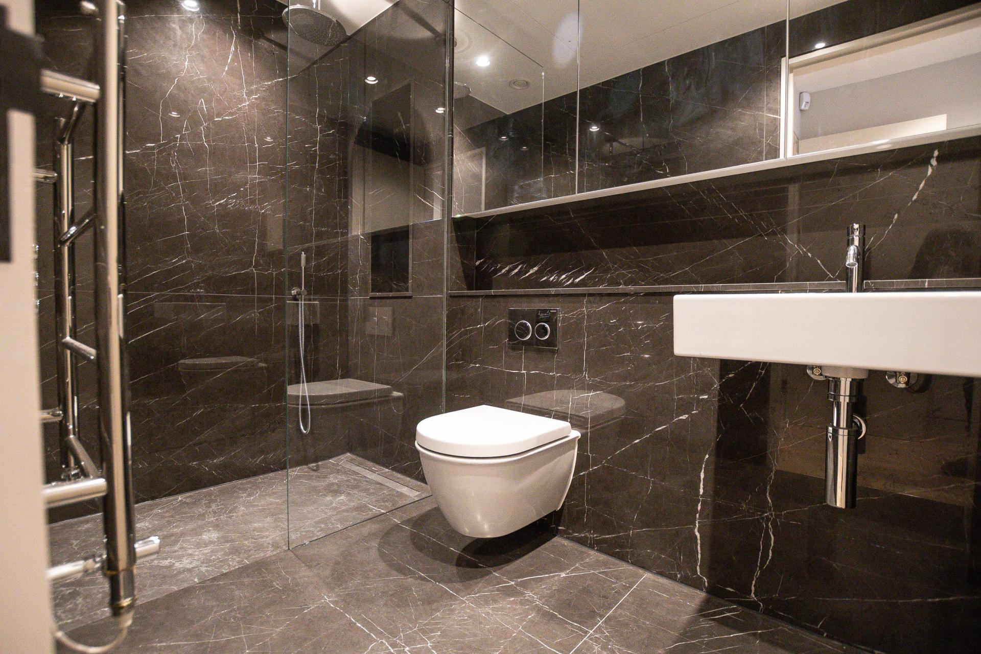 Shower at King's Mews Apartments, Holborn, London - Citybase Apartments