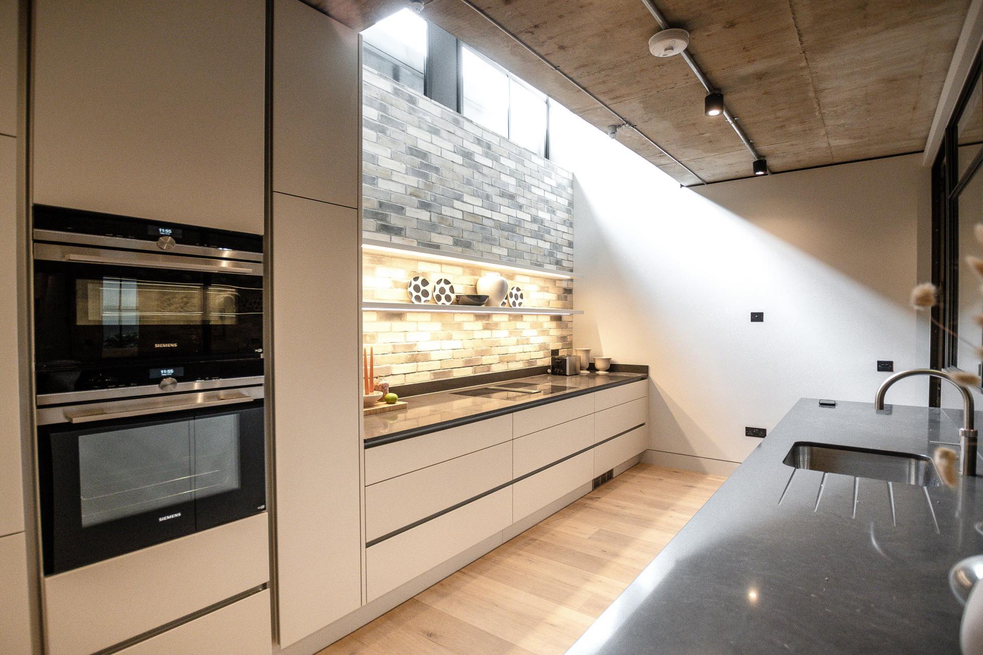 Kitchen at King's Mews Apartments, Holborn, London - Citybase Apartments