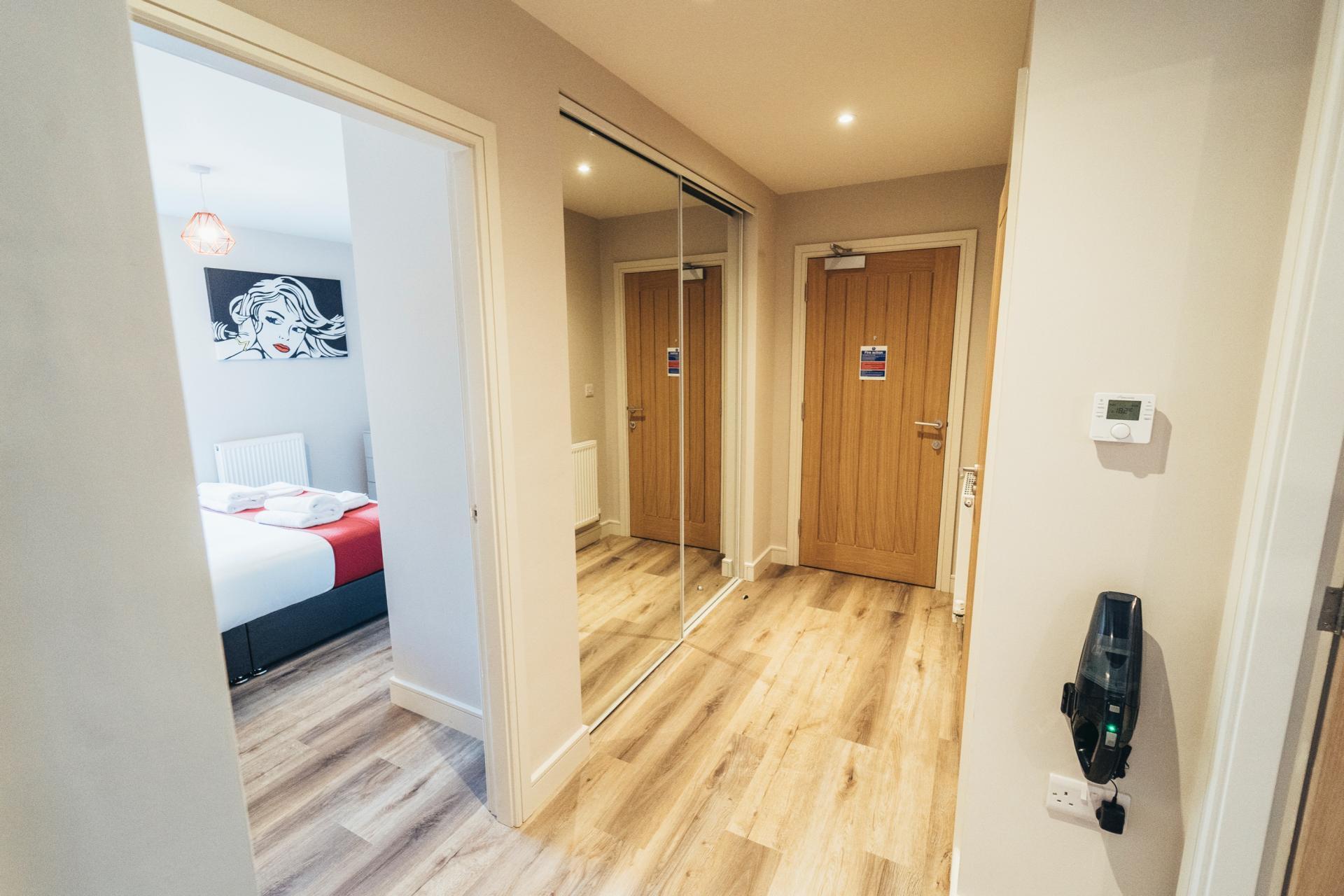 Hallway at Devonshire Court Apartments, West Bridgford, Nottingham - Citybase Apartments
