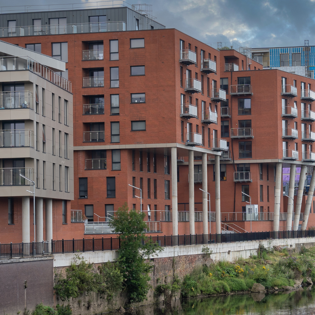 Exterior of Dream Apartments Manchester, Salford, Manchester - Citybase Apartments