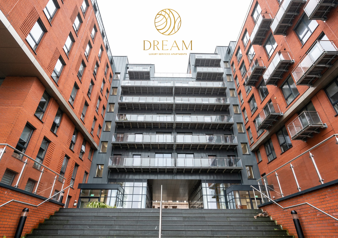 Entrance to Dream Apartments Manchester - Citybase Apartments