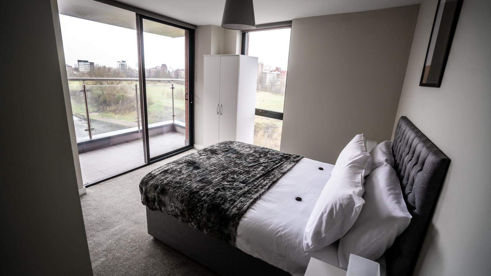 Bedroom at Dream Apartments Manchester - Citybase Apartments