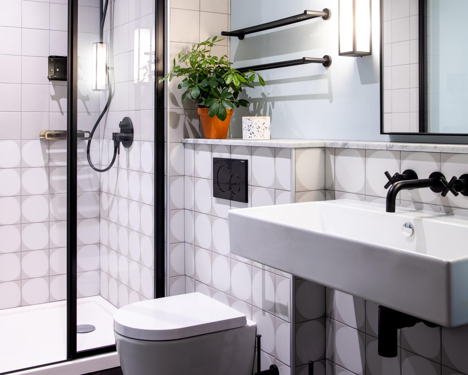 Bathroom at Zanzibar Locke Apartments, Centre, Dublin - Citybase Apartments