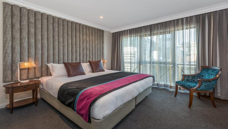 Bedroom in 2 bed at Mantra on Russell - Citybase Apartments