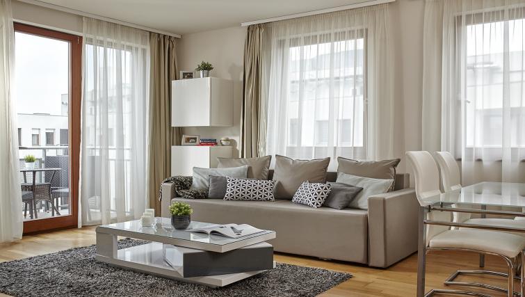 Living room at 7 Seasons Apartments - Citybase Apartments