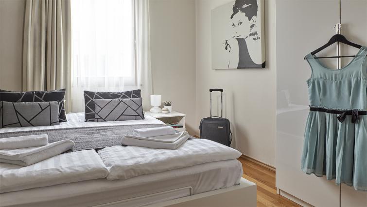 Bright bedroom at 7 Seasons Apartments - Citybase Apartments