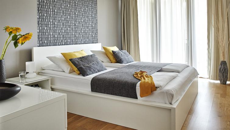 Master bedroom at 7 Seasons Apartments - Citybase Apartments