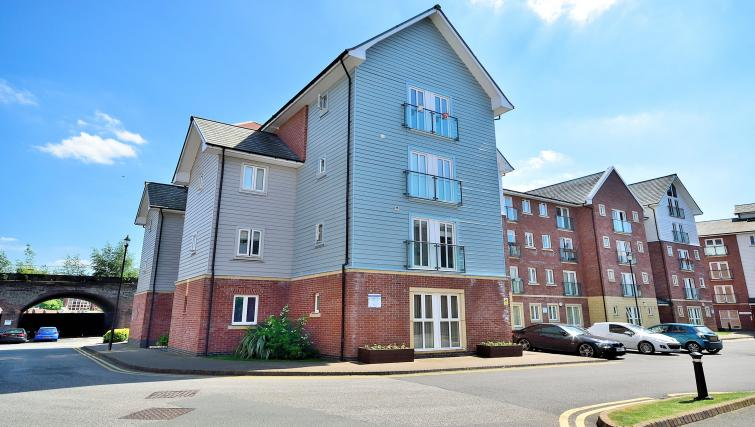 Master bedroom at Chester Racecourse Apartments - Citybase Apartments
