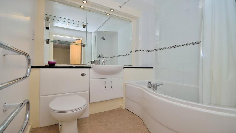 Bathroom at Chester Racecourse Apartments - Citybase Apartments