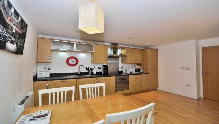 Living space at Chester Racecourse Apartments - Citybase Apartments