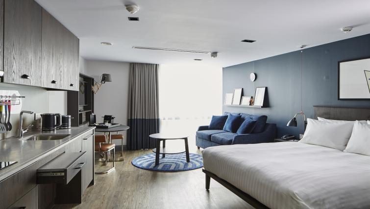 Open plan living at Residence Inn London Kensington, Earls Court, London - Citybase Apartments