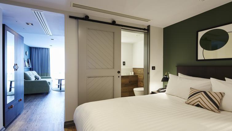 Bedroom at Residence Inn London Kensington, Earls Court, London - Citybase Apartments