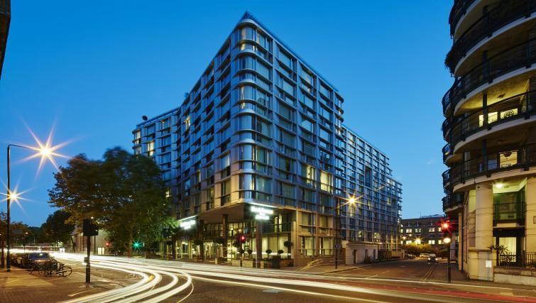 Exterior at Residence Inn London Kensington, Earls Court, London - Citybase Apartments