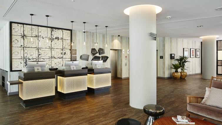 Reception at Residence Inn London Kensington, Earls Court, London - Citybase Apartments