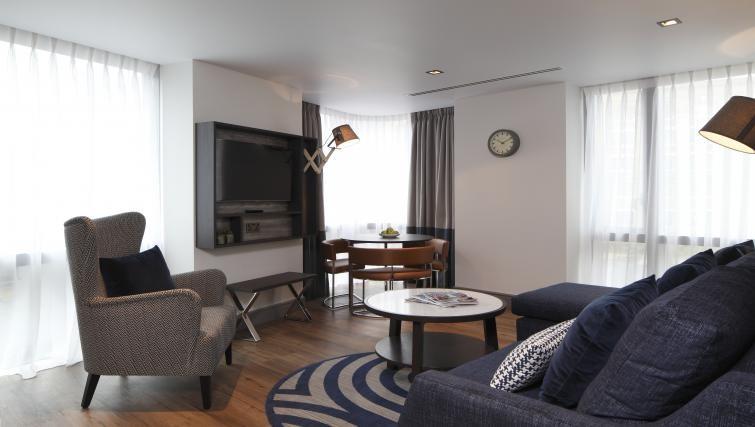 Cosy chair at Residence Inn London Kensington, Earls Court, London - Citybase Apartments