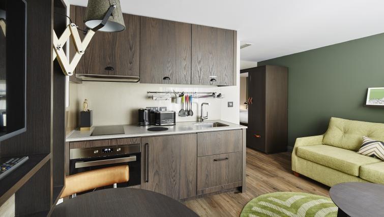 Kitchen at Residence Inn London Kensington, Earls Court, London - Citybase Apartments