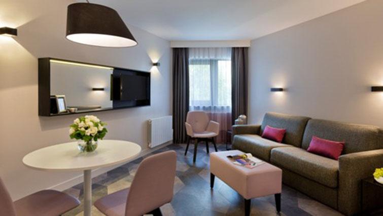 Lounge at the Citadines Trocadero Apartments - Citybase Apartments