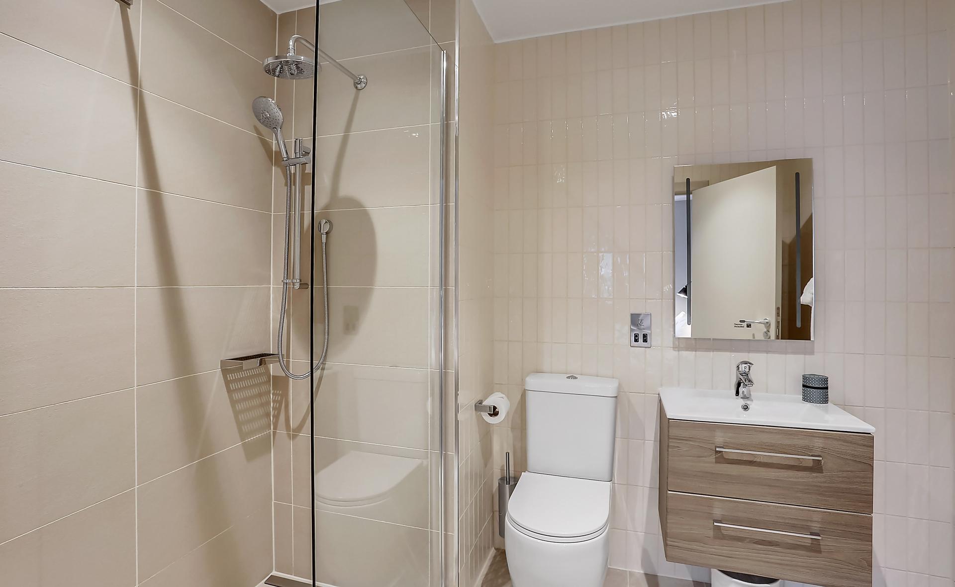 Bathroom at Native Edinburgh Apartments, Centre, Edinburgh - Citybase Apartments