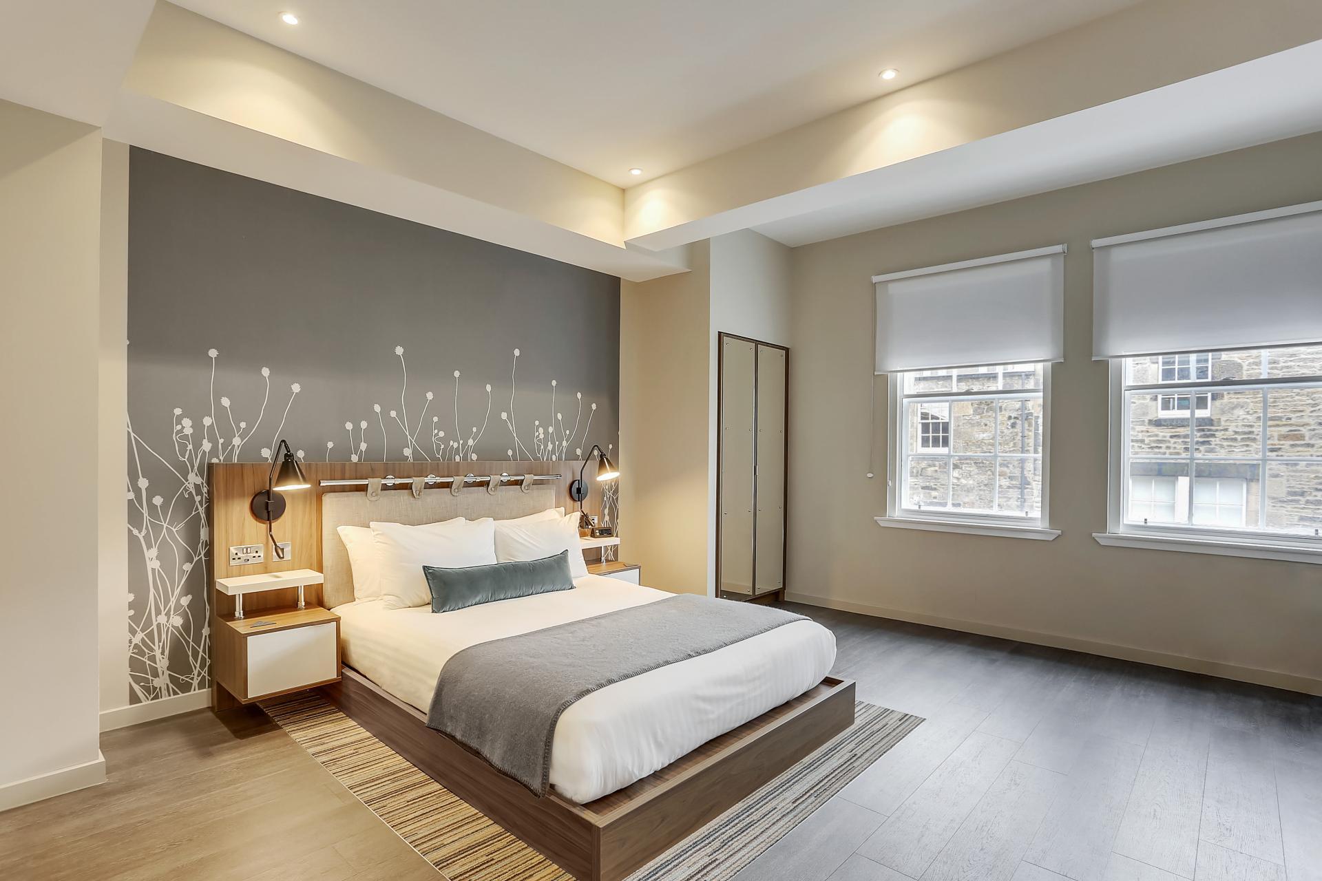 Bedroom at Native Edinburgh Apartments, Centre, Edinburgh - Citybase Apartments