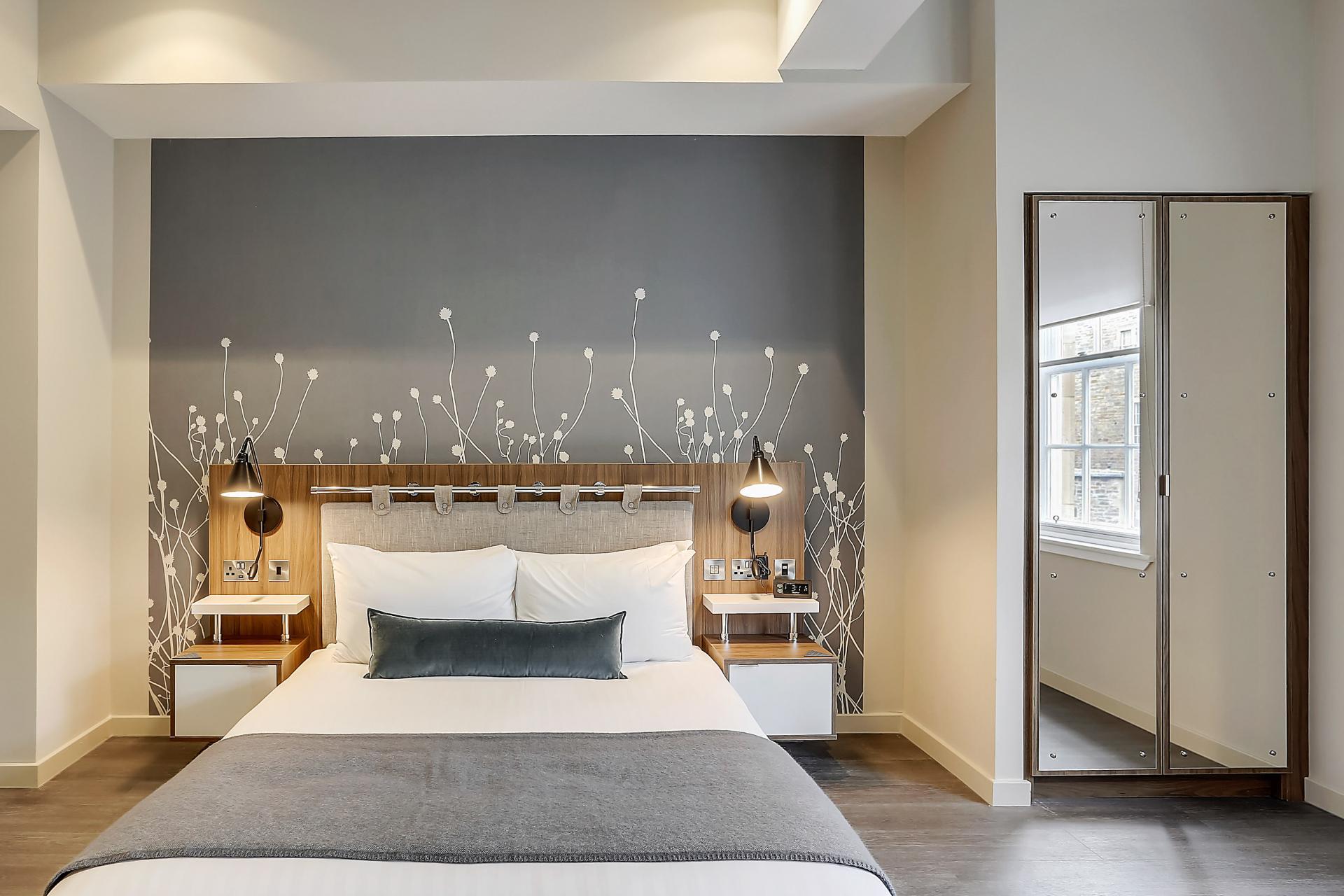 Bed at Native Edinburgh Apartments, Centre, Edinburgh - Citybase Apartments