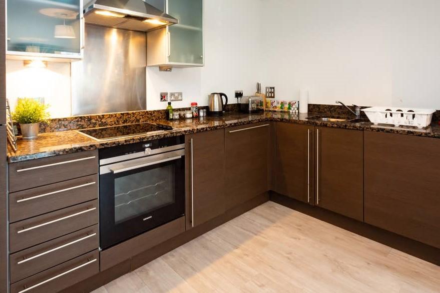 Kitchen at Providence Apartments, Centre, Maidenhead - Citybase Apartments