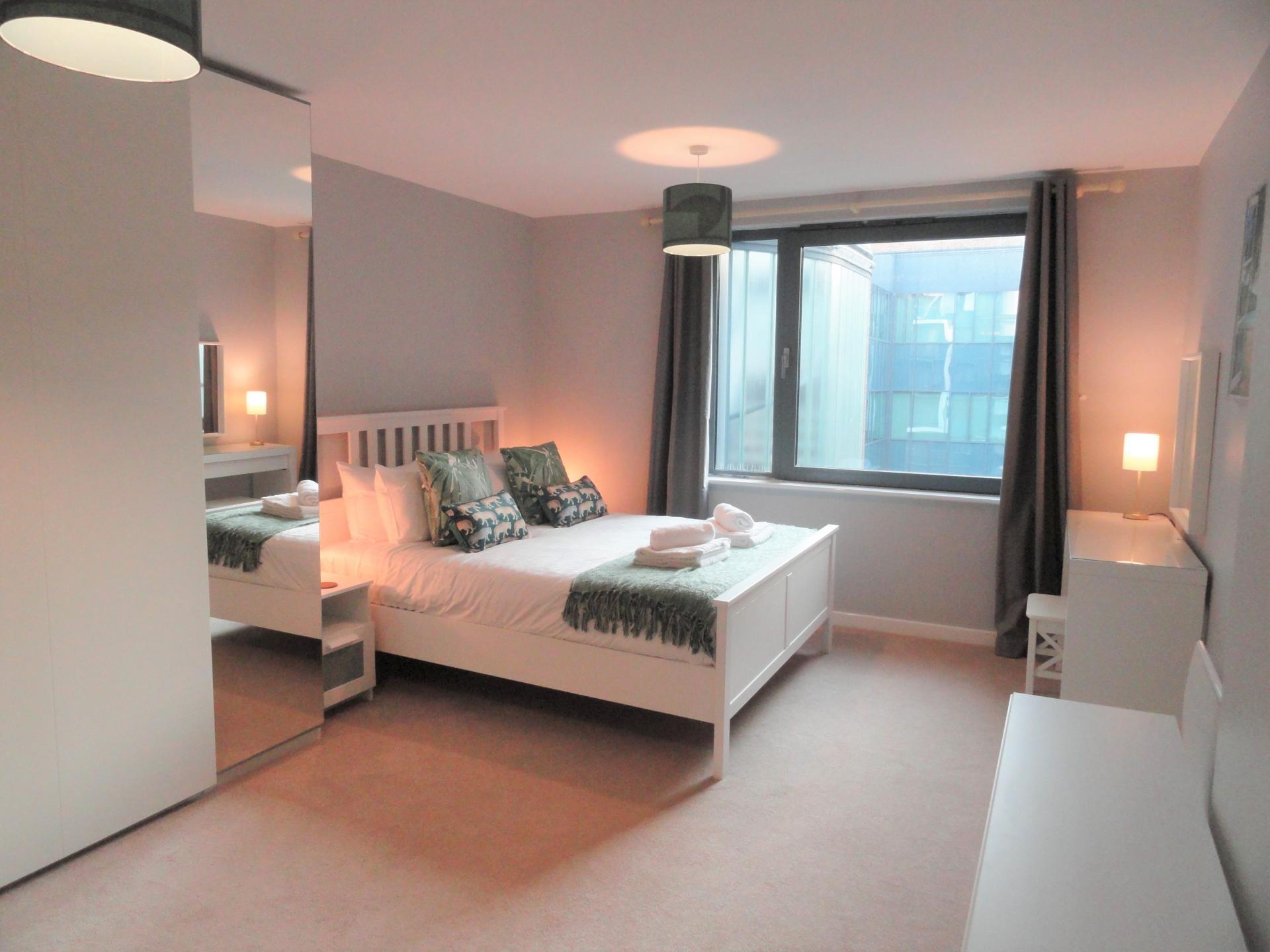 Bedroom at Providence Apartments, Centre, Maidenhead - Citybase Apartments