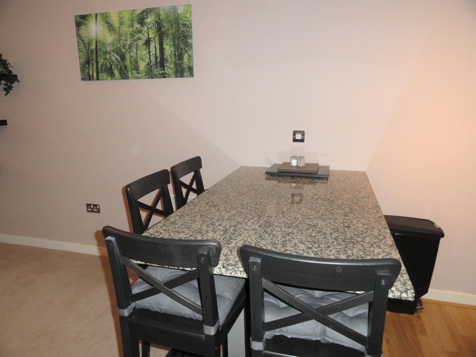 Dining area at Providence Apartments, Centre, Maidenhead - Citybase Apartments