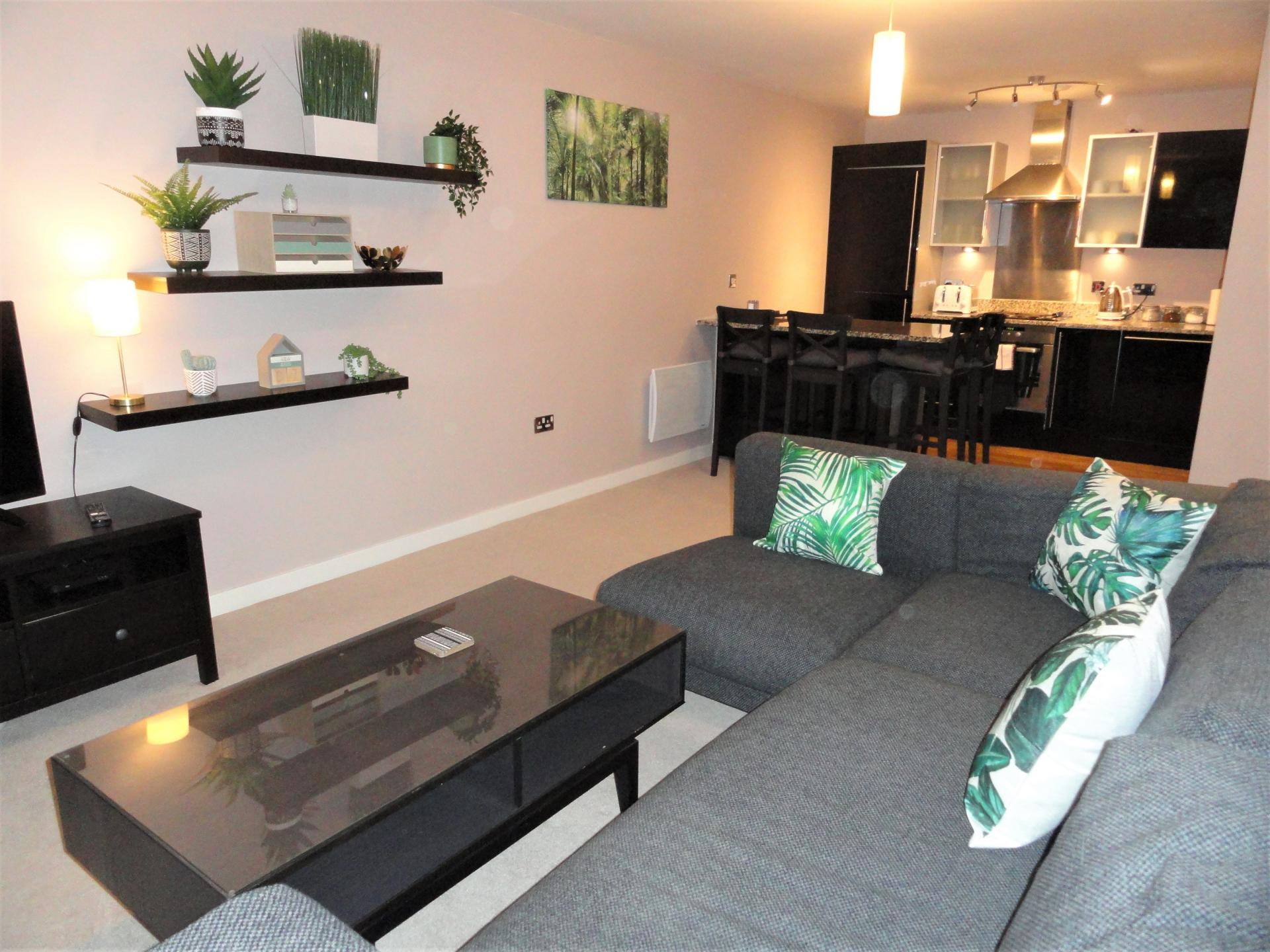 Lounge at Providence Apartments, Centre, Maidenhead - Citybase Apartments