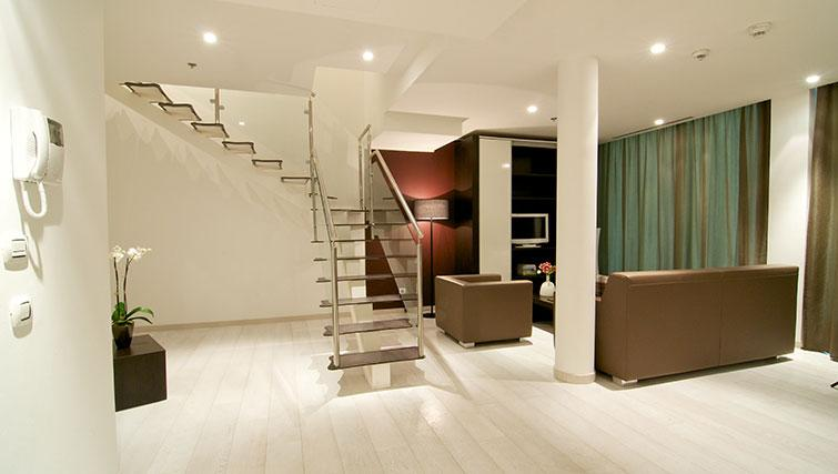 Stairs in the New York Residence - Citybase Apartments