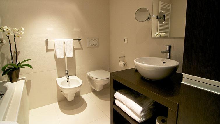 Bathroom in Boscolo Luxury Residence - Citybase Apartments