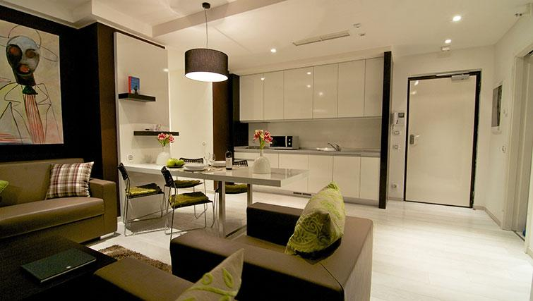 Kitchen in the New York Residence - Citybase Apartments