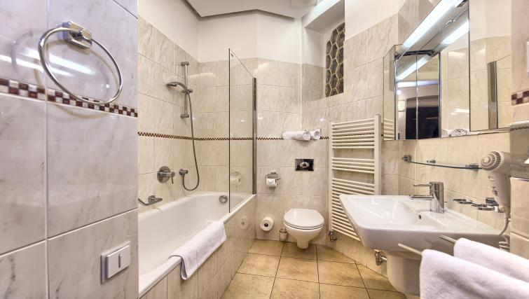 Bathroom at Residence Brehova Apartments - Citybase Apartments