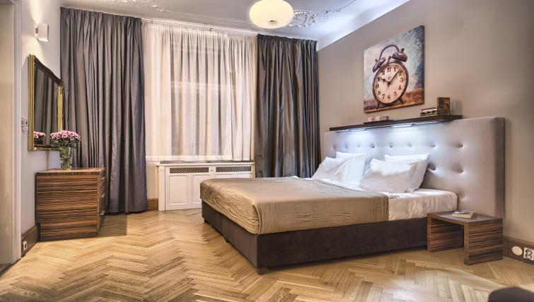 Bed at Residence Brehova Apartments - Citybase Apartments