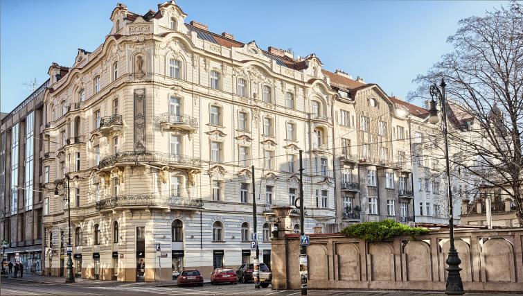 Exterior of Residence Brehova Apartments - Citybase Apartments