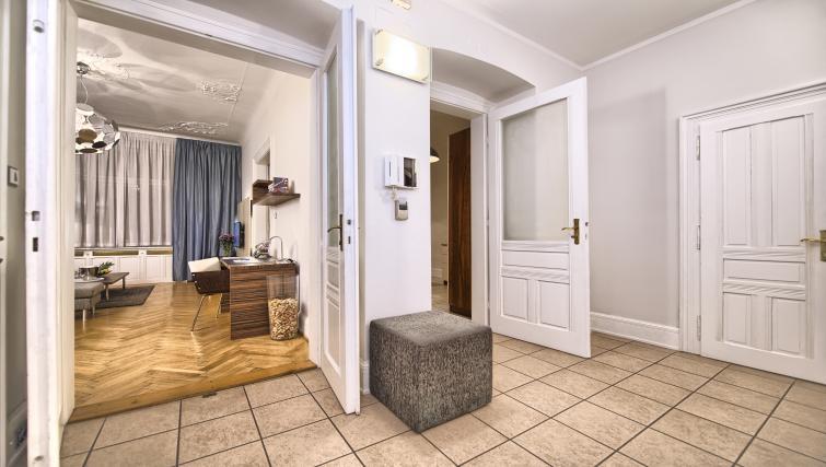 Hall at Residence Brehova Apartments - Citybase Apartments